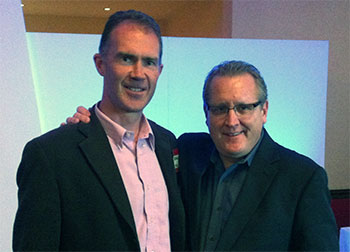 Hugh Anderson with Mark Schaefer at Oi Conference 2012